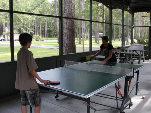 Ping Pong At KOA